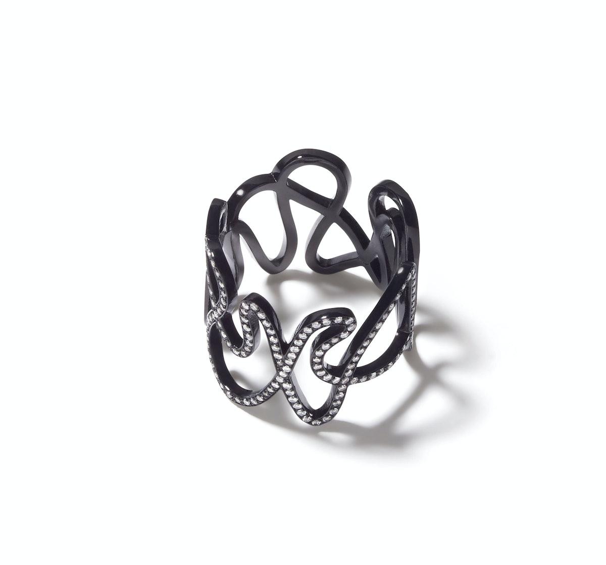 Repossi gold and diamond ring