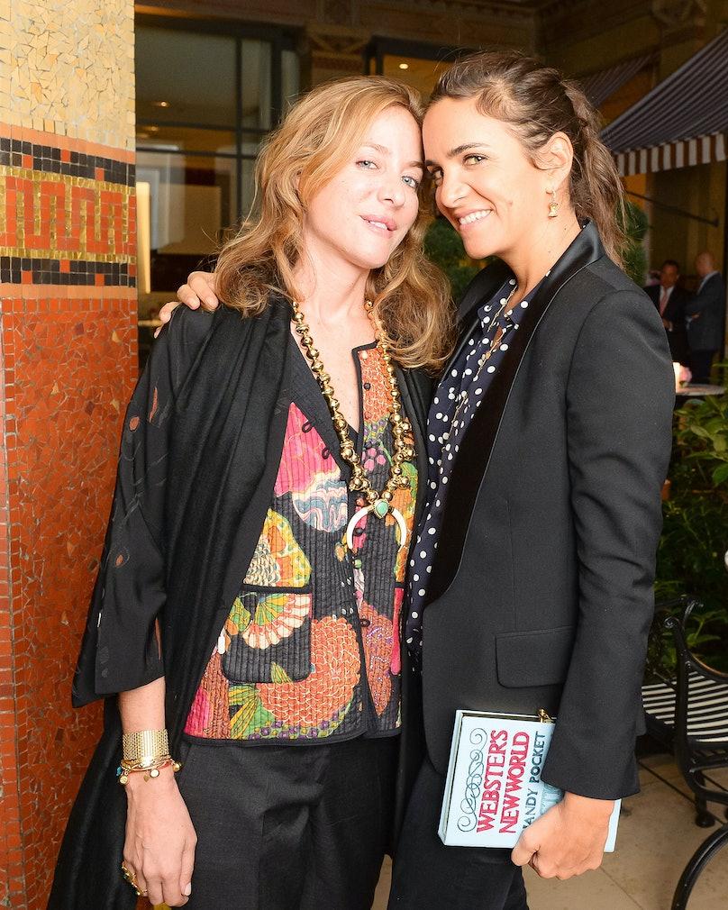 Aurelie Bidermann and Laure Heriard Dubreuil
