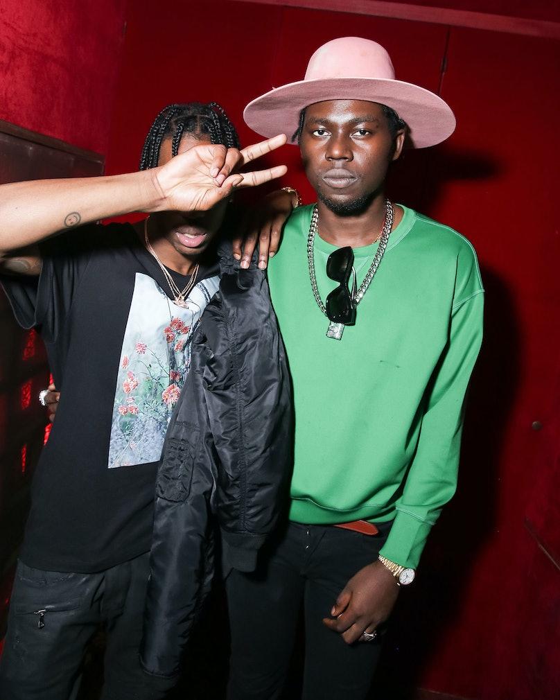 Travis Scott and Theophilus London