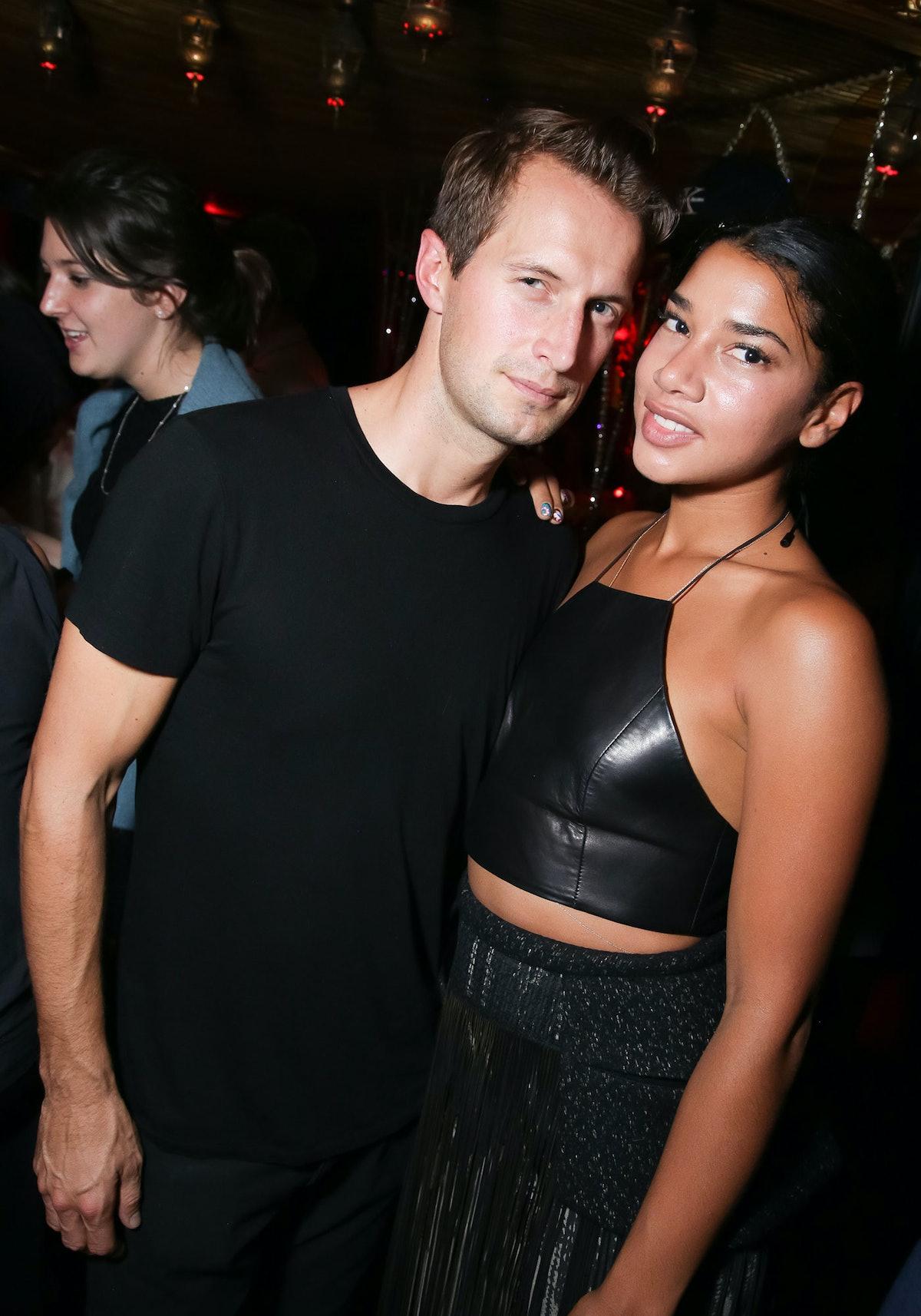 Brendan Fallis and Hannah Bronfman