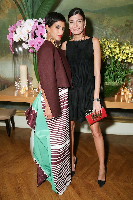 Princess Deena Aljuhani Abdulaziz and Giovanna Battaglia