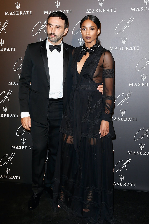 Riccardo Tisci and Ciara