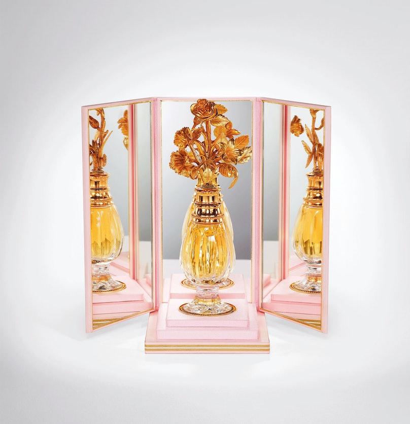 Christian Dior's fourth perfume, Diorissimo, 1956