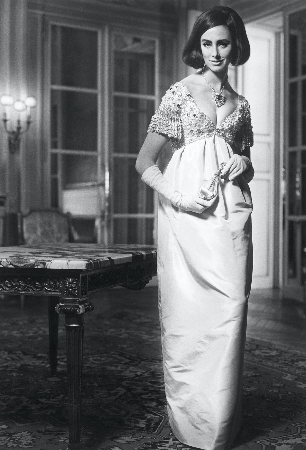 Diorling evening dress, Spring-Summer 1963 Haute Couture collection