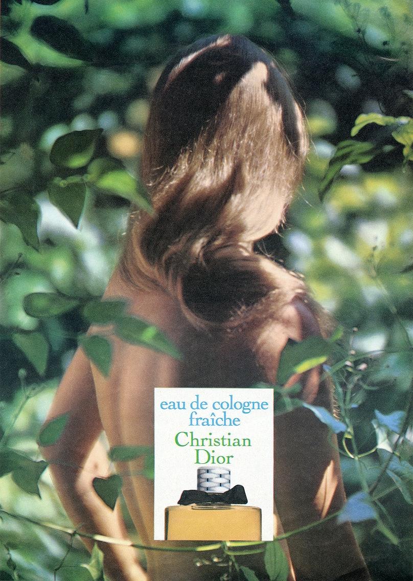 Advertisement for Eau Fraîche, 1971