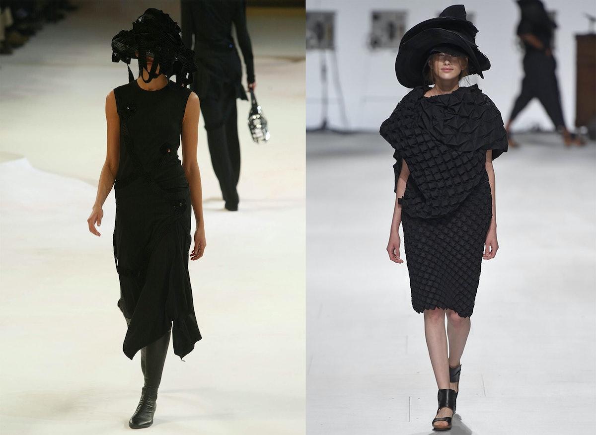Issey Miyake Fall 2004 and Spring 2015