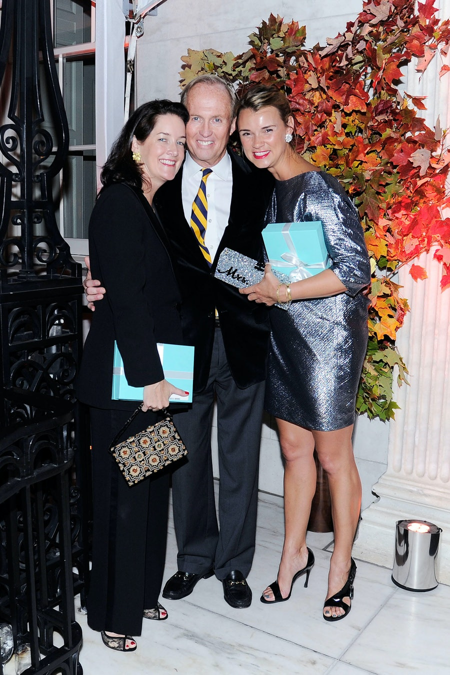 Tara Rockefeller, Mark Gilbertson, and Allison Aston