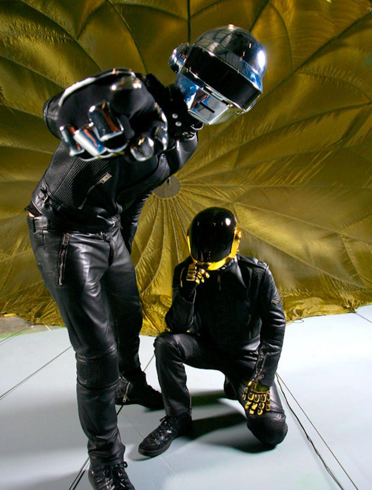 Daft Punk, Las Vegas, 2010 by Mick Rock