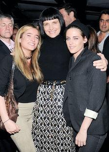 Lara Tarle, Juliette Binoche, and Kristen Stewart