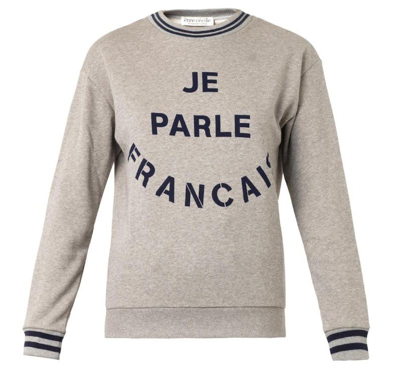 Etre Cecile sweatshirt
