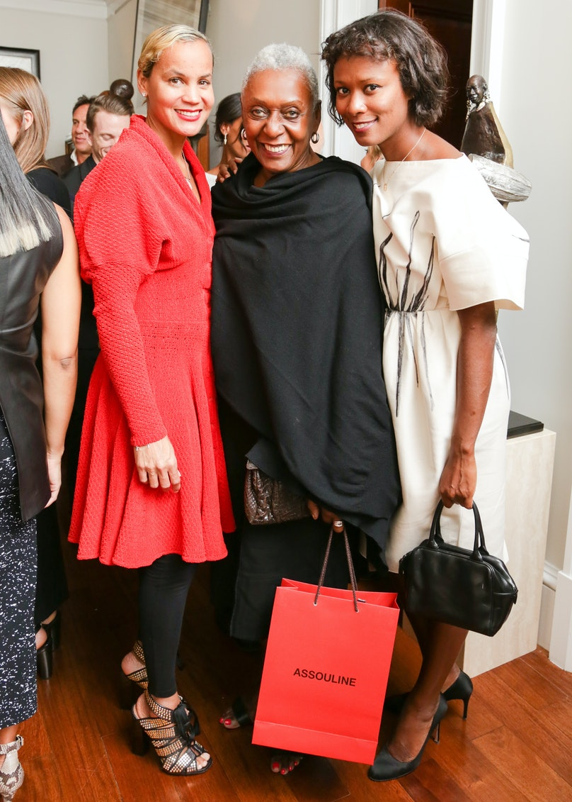 Erica Reid, Bethann Hardison, and Shala Monroque