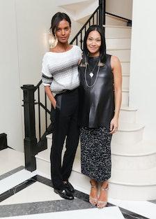 Liya Kebede and Monique Péan