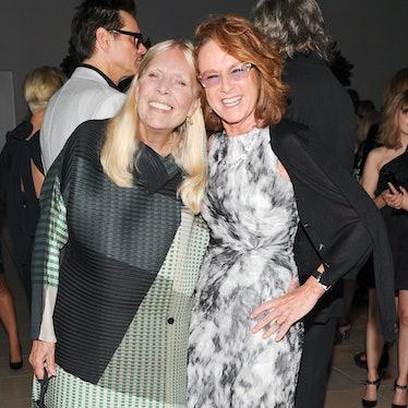 Joni Mitchell and Annie Philbin