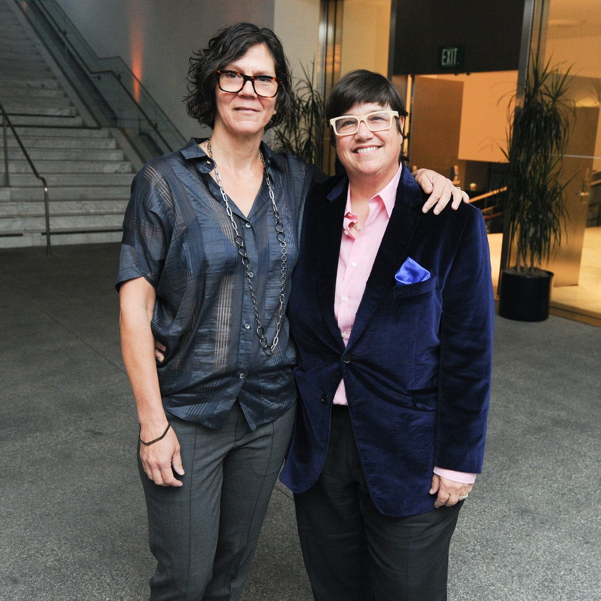 Julie Burleigh and Catherine Opie