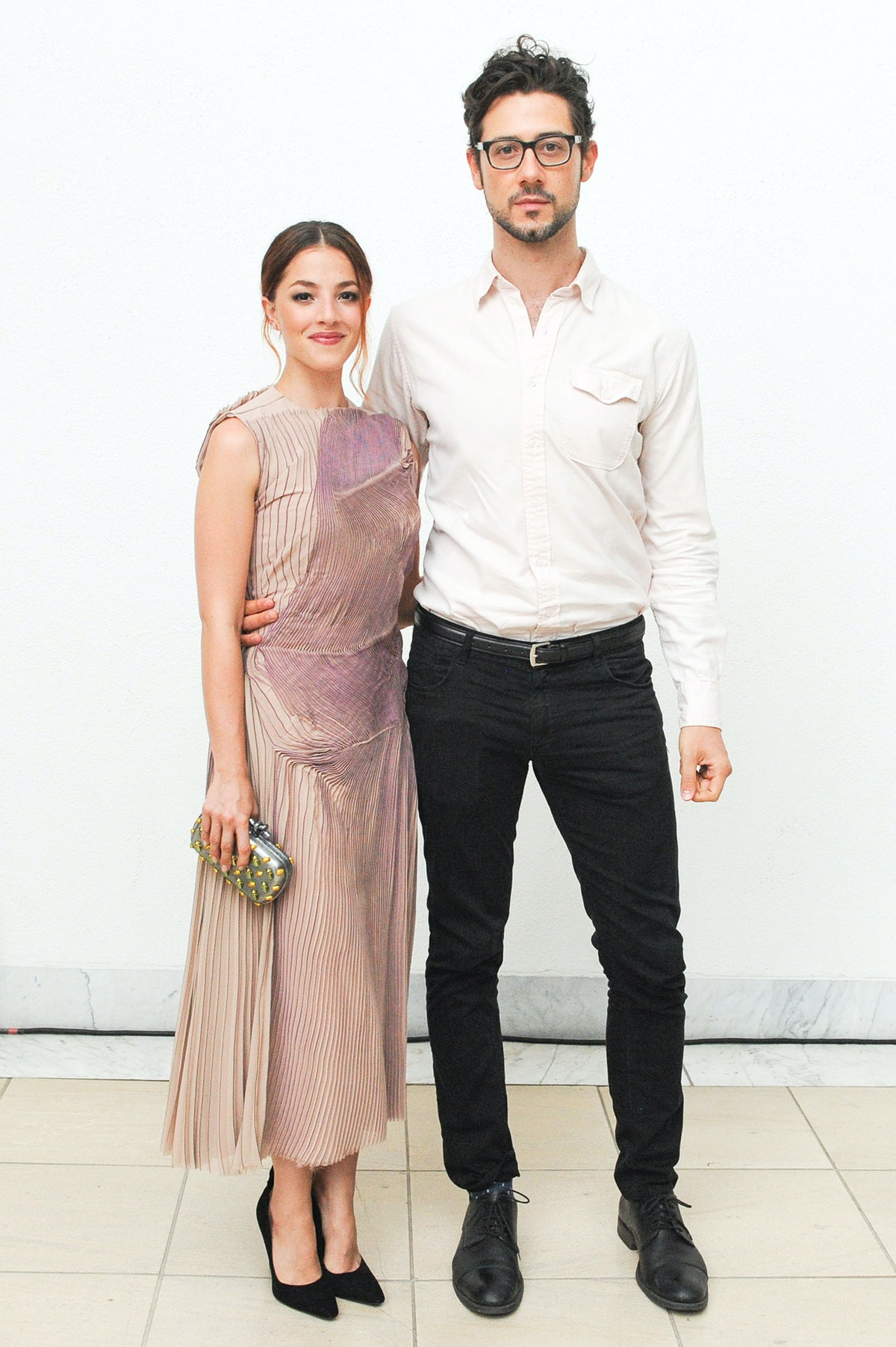 Olivia Thirlby and Hale Appleman