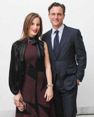 Liz and Tony Goldwyn