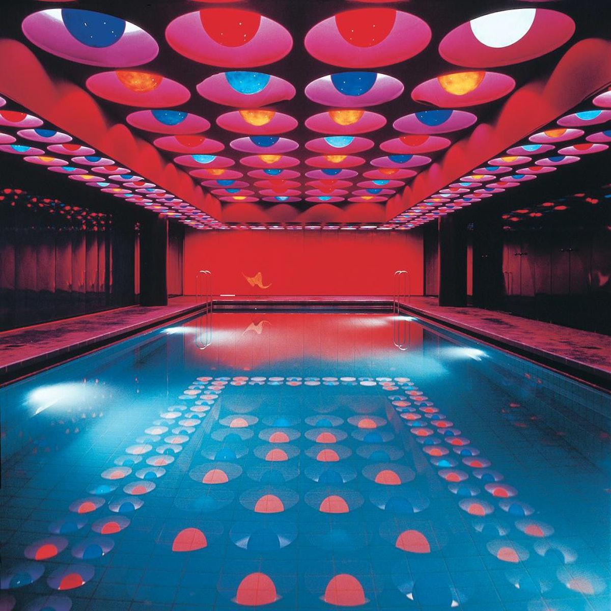 Verner Panton pool