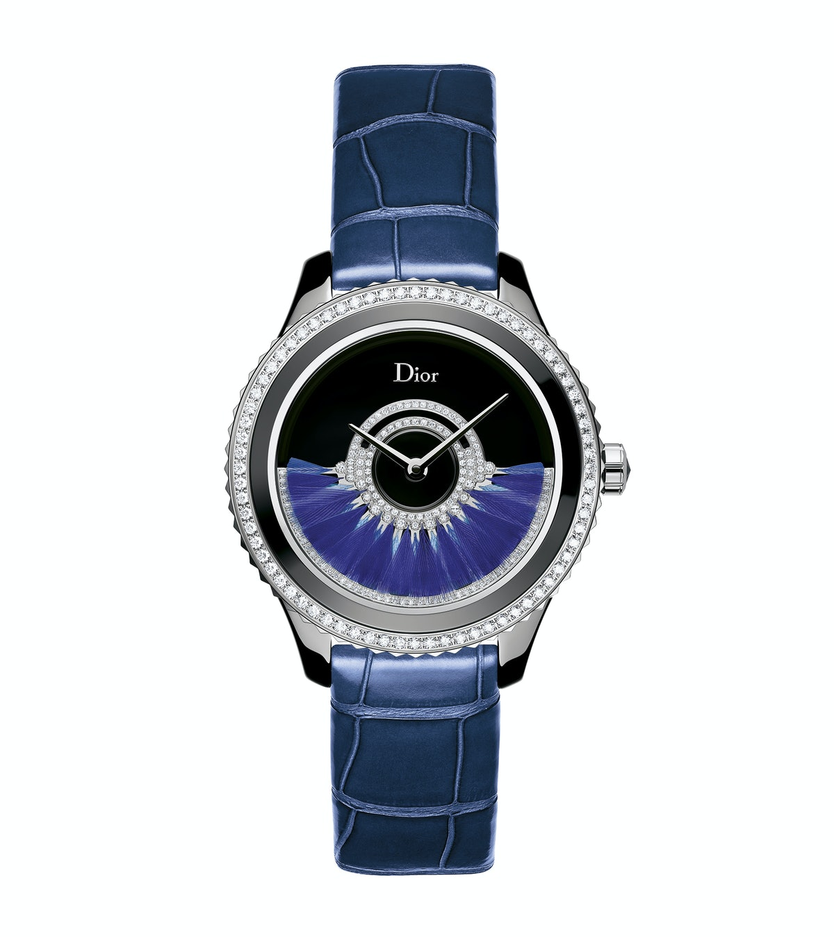 Dior Timepieces ceramic and diamond watch