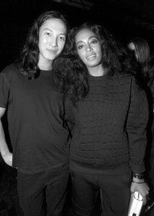 Alexander Wang and Solange Knowles