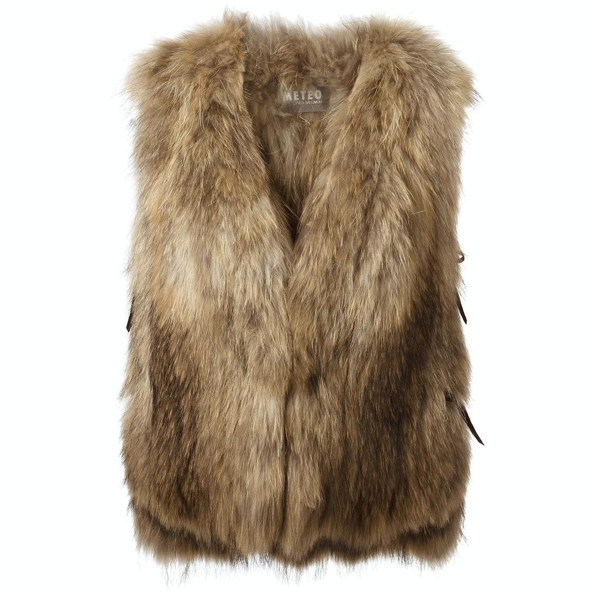Meteo fur vest