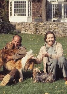 Oscar and Francoise de la Renta