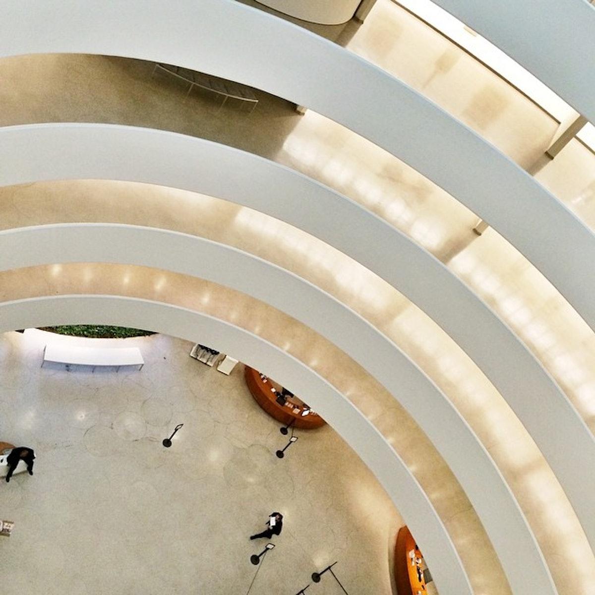 Empty Guggenheim