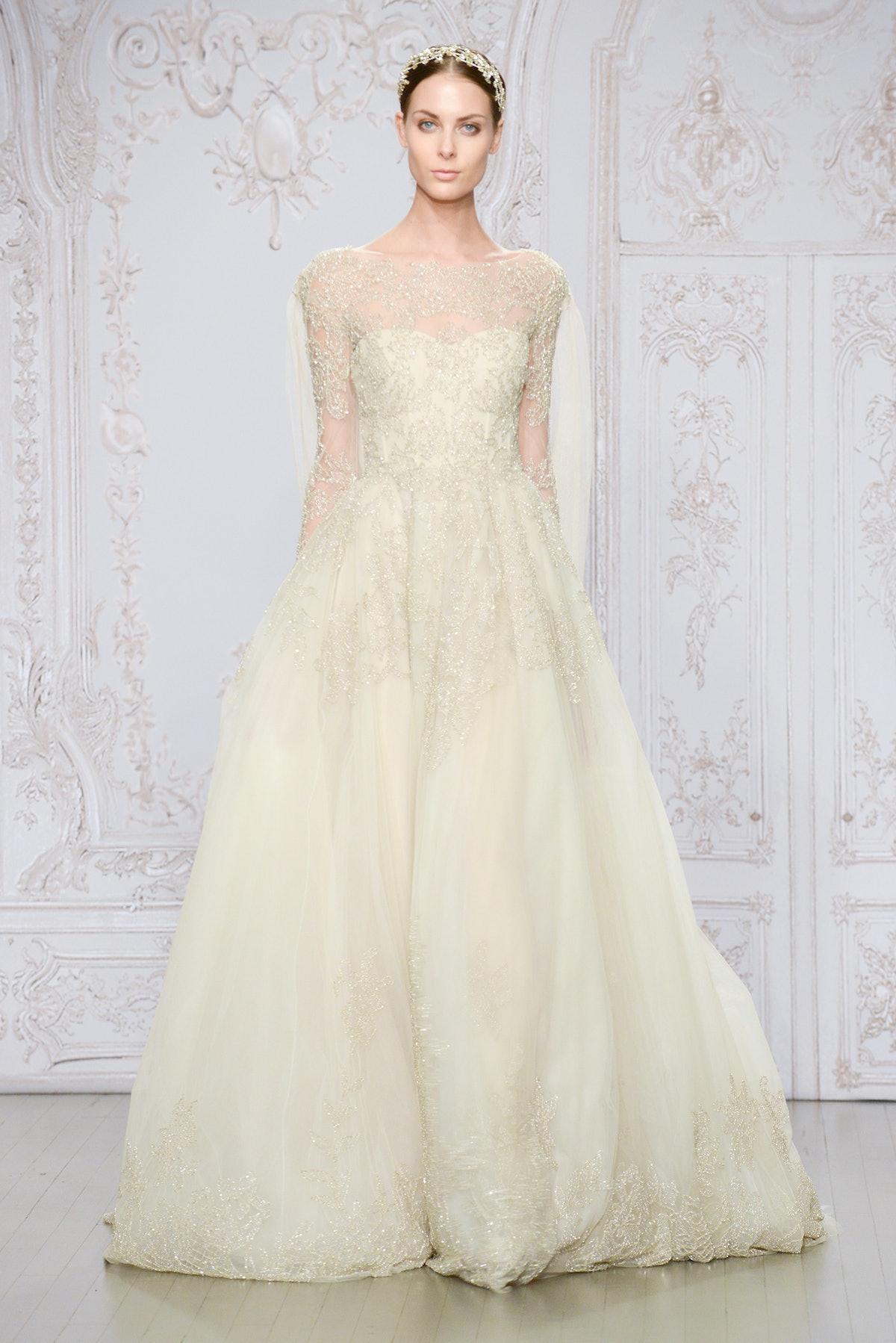 Monique Lhuiller wedding