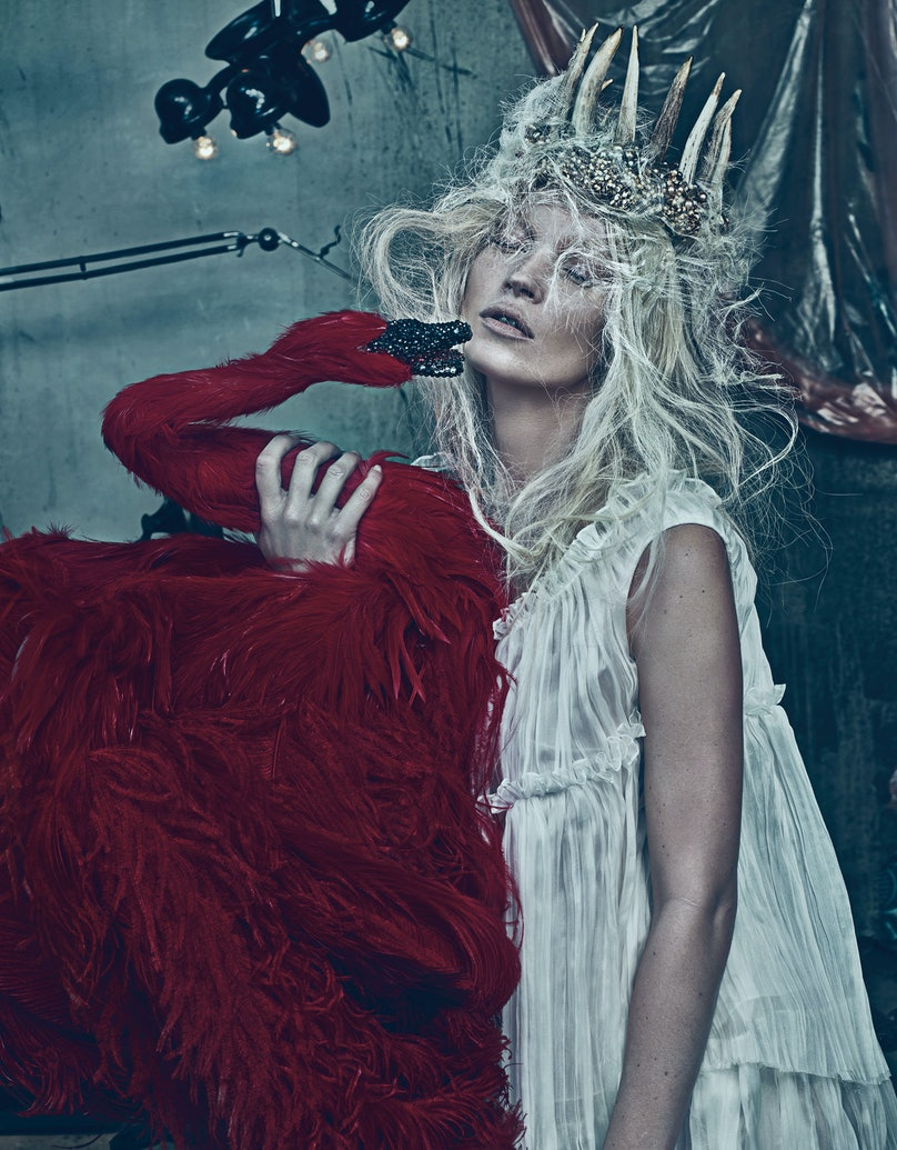 """""""Good Kate, Bad Kate"""" photographed by Steven Klein"""
