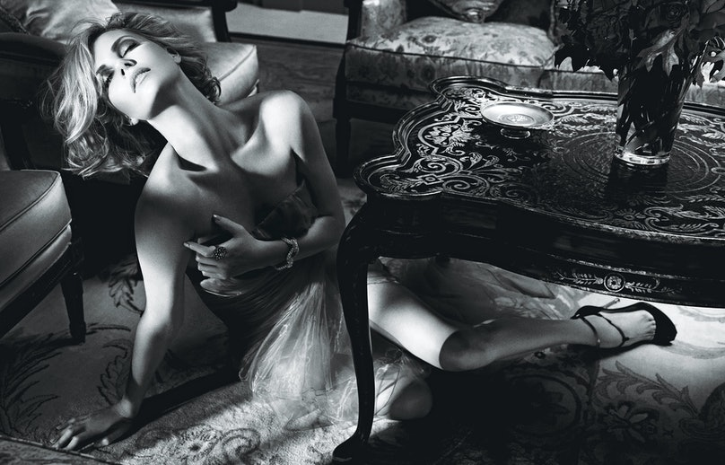 """""""Best Performances: Charlize Theron"""" photographed by Mario Sorrenti"""
