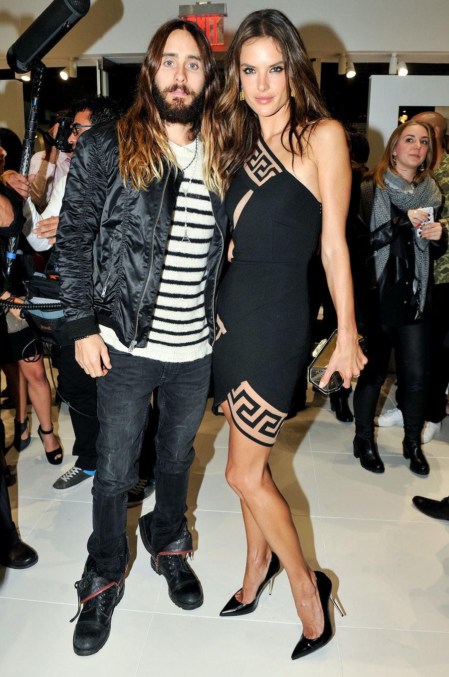 Jared Leto and Alessandra Ambrosio