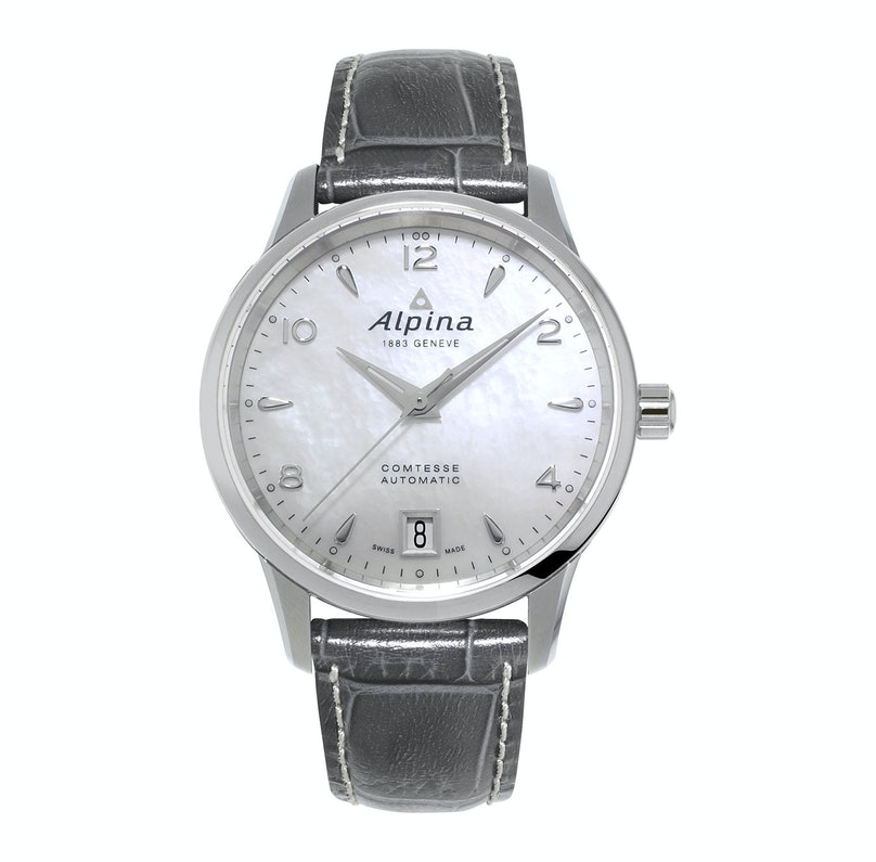 Alpina stainless steel watch