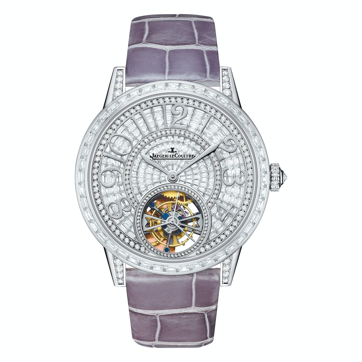 Jaeger-LeCoultre white gold and diamond watch