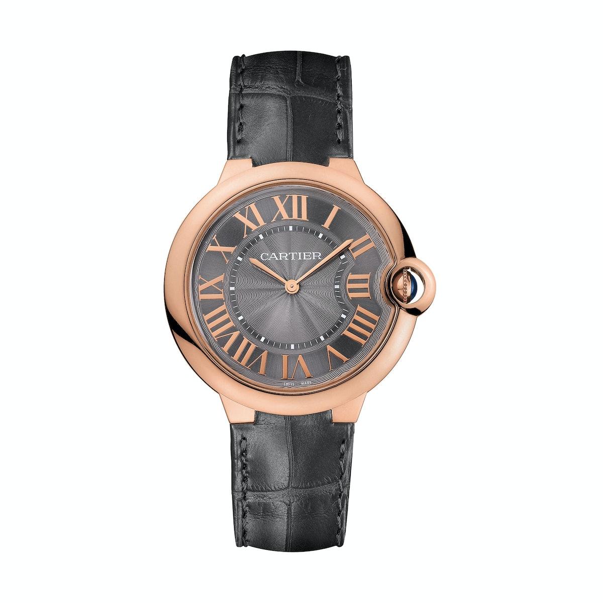Cartier 18k rose gold watch