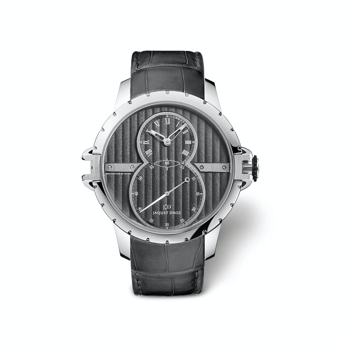 Jaquet Droz stainless steel watch