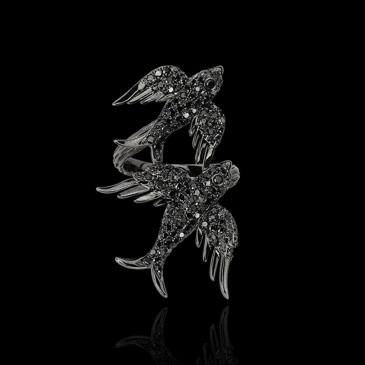 Colette Black Marmaris ring