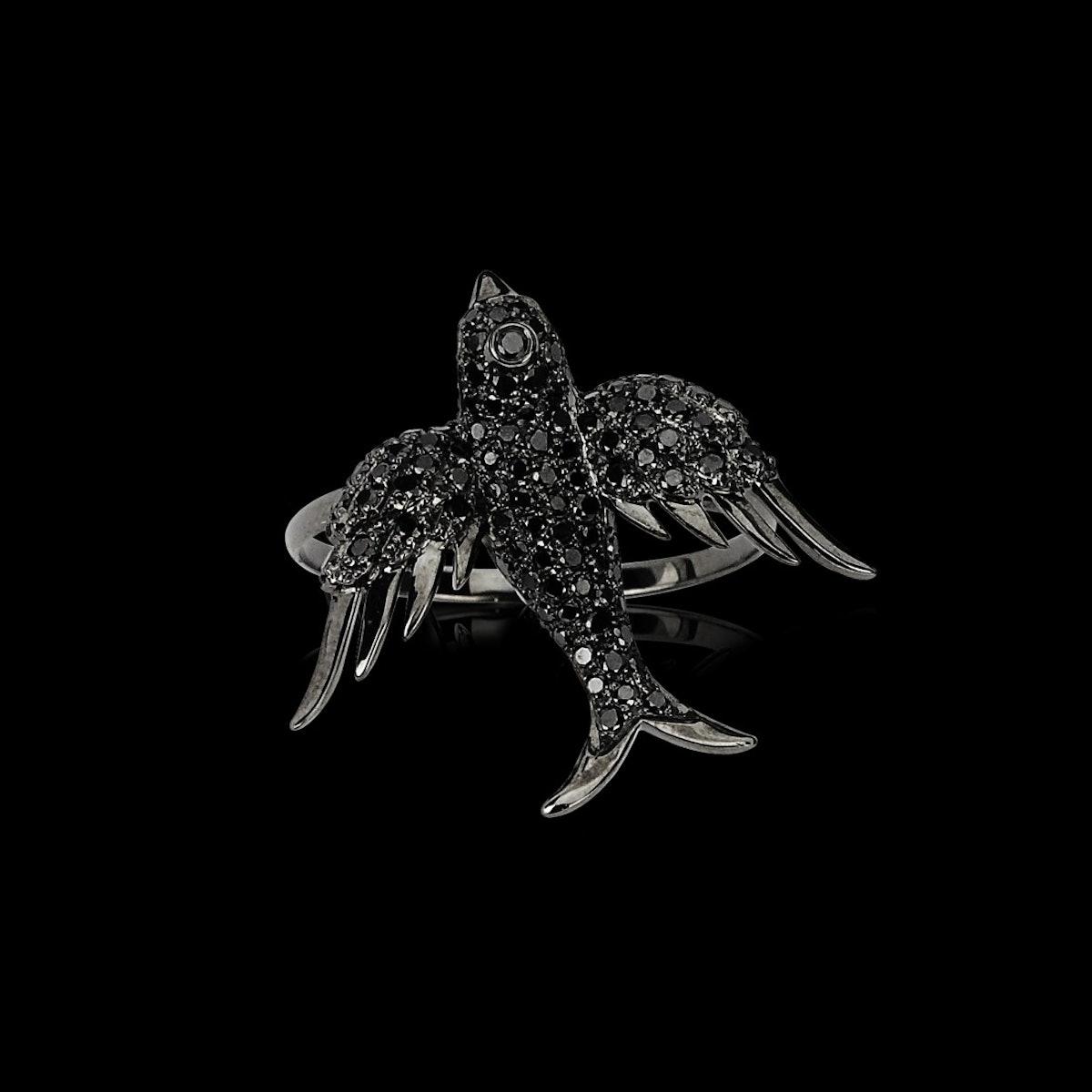 Colette Black Rize ring
