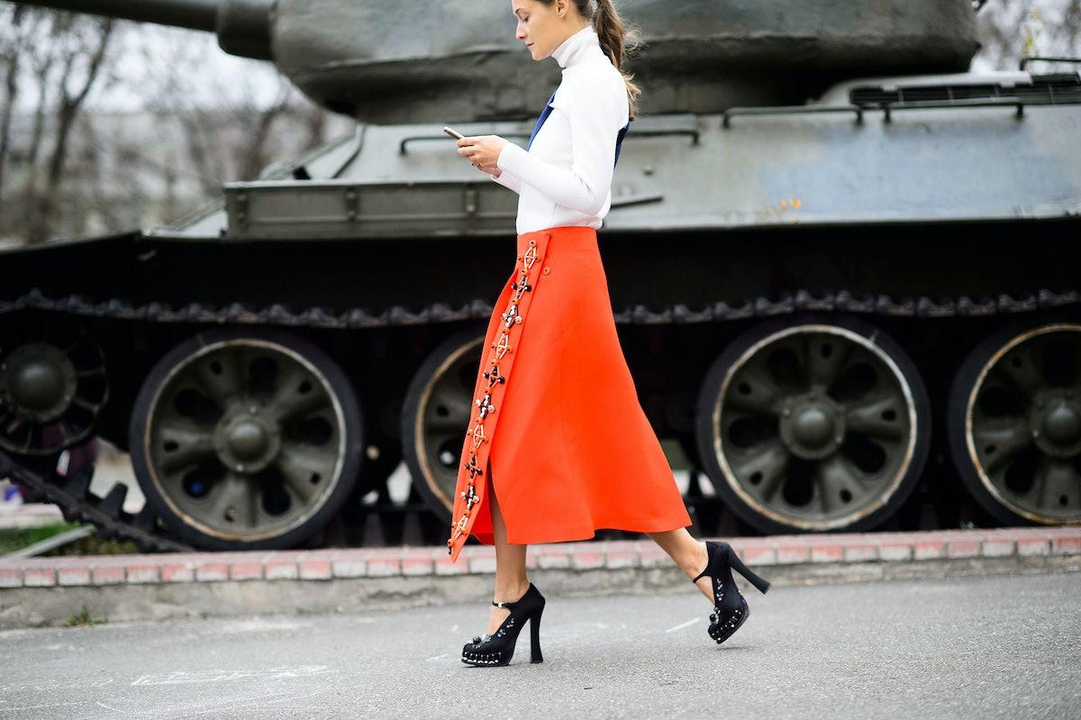 Mercedes-Benz Kiev Fashion Days Spring 2015 Street Style