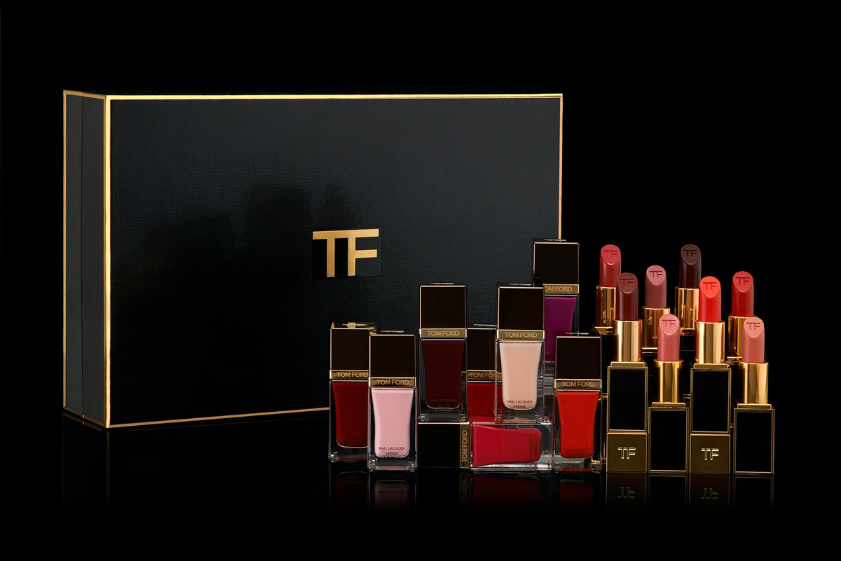 Tom Ford 8 Piece Lip Color and 8 Piece Nail Gift Box