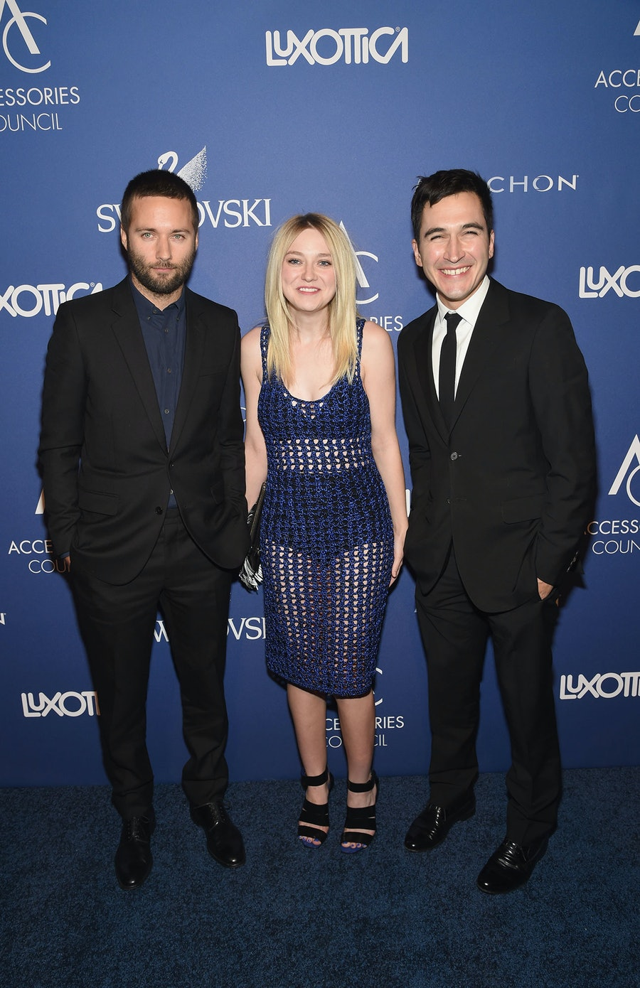 Jack McCollough, Dakota Fanning, and Lazaro Hernandez