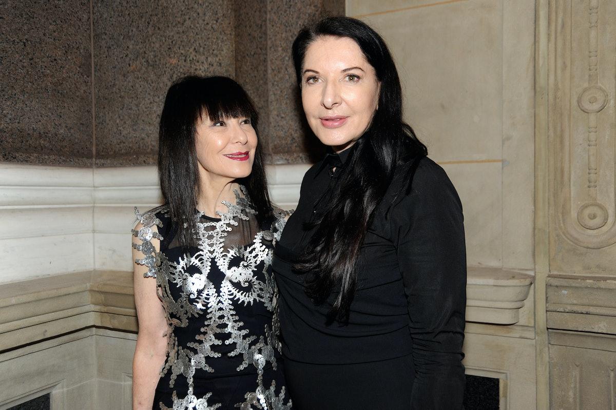 RoseLee Goldberg and Marina Abramovic