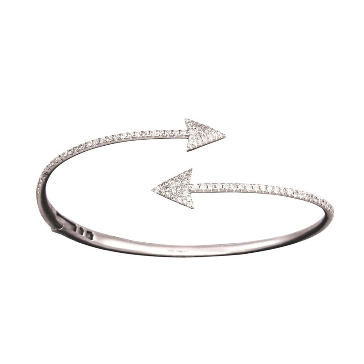 Meira T 18k white gold and diamonds bracelet