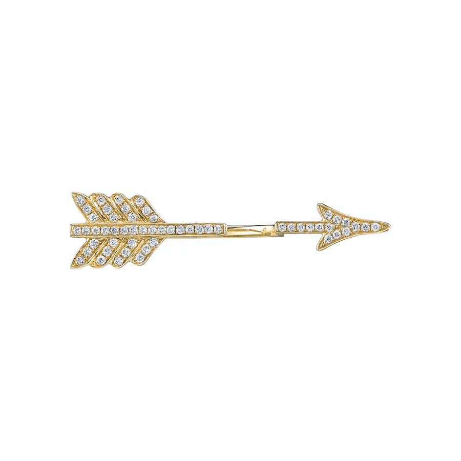 Anita Ko single arrow earring