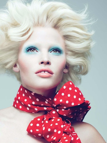 Color Me Beautiful; W Magazine September 2010