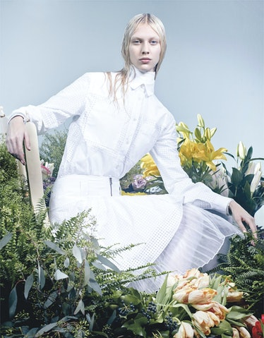 The Whites of Spring; W Magazine March 2013