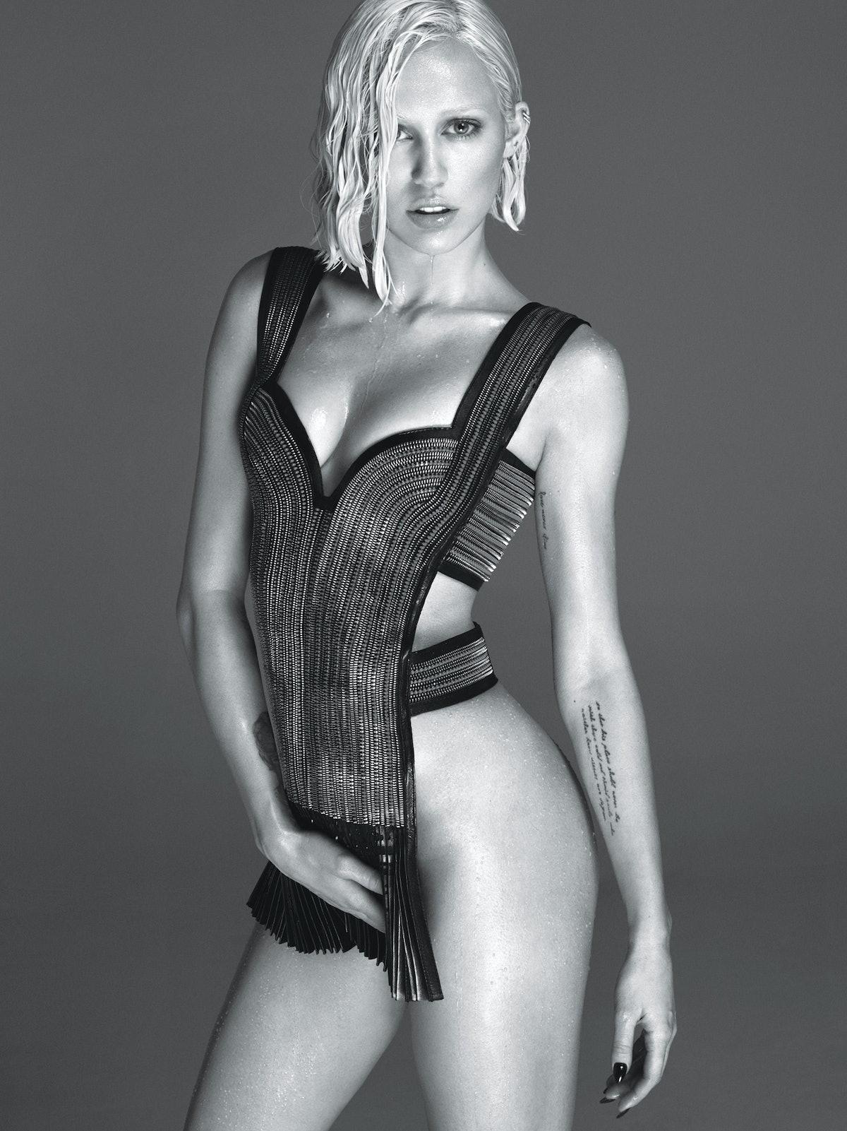 Miley Cyrus; W Magazine March 2014
