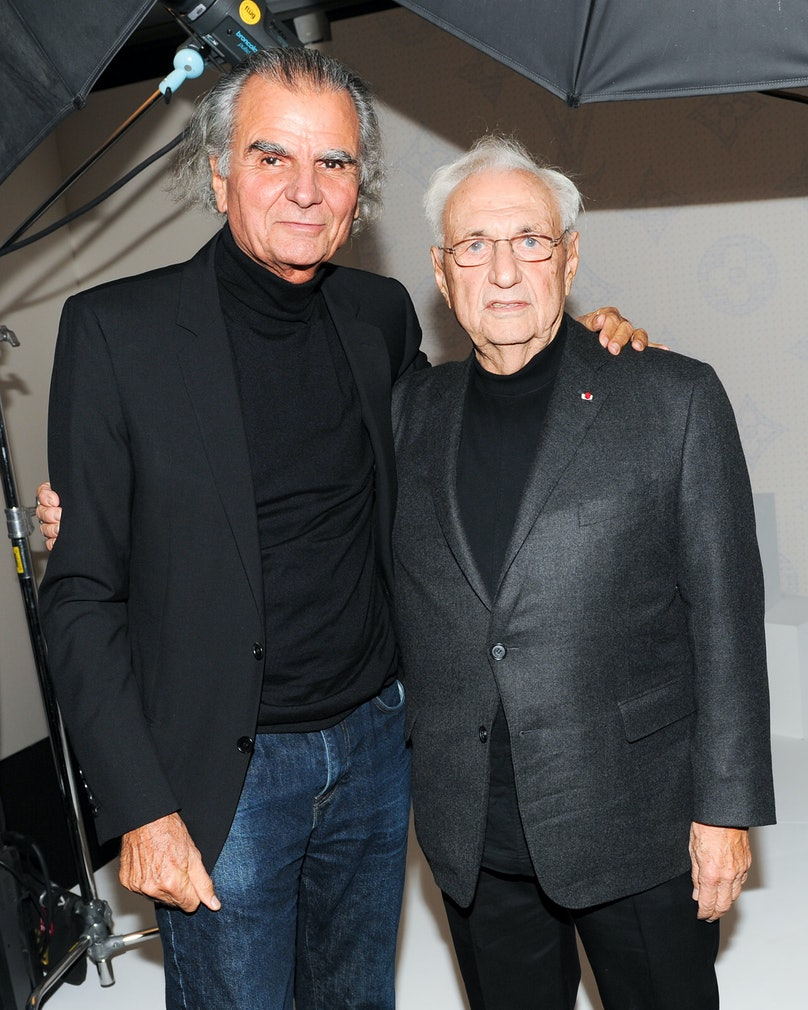 Patrick Demarchelier and Frank Gehry