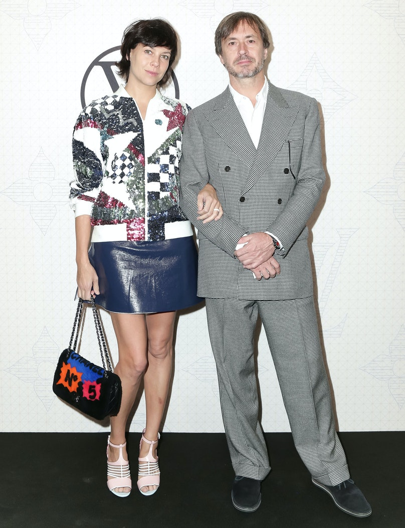 Charlotte Stockdale and Marc Newson