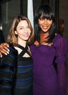 Sofia Coppola and Naomi Campbell