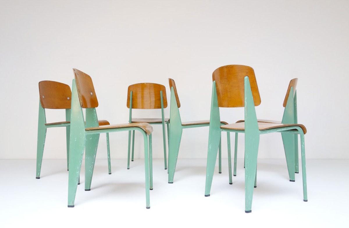 Jean Prouvé, Standard chairs