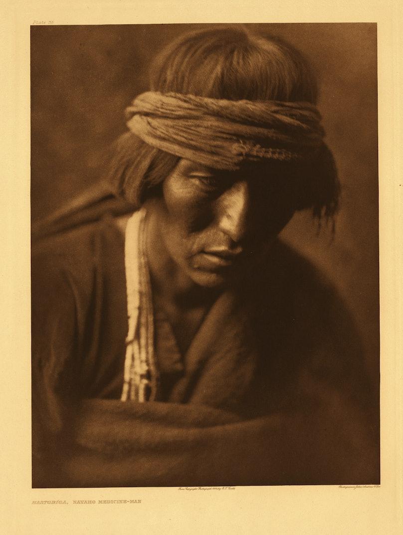Hastobiga—Navaho Medicine-Man, 1904